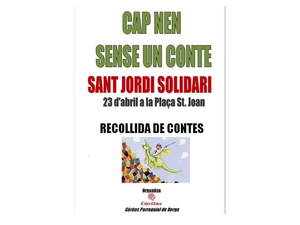 CAMPANYA SANT JORDI SOLIDARI